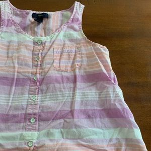Gap Button up tank
